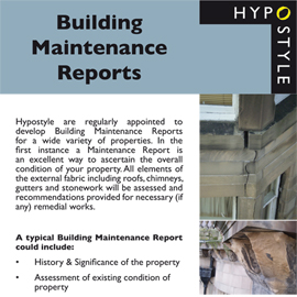 Building Maintenance Reports